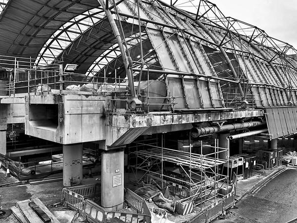 The old Eurostar terminal at Waterloo