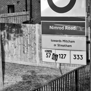 Nimrod Road bus stop