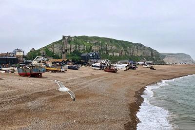 The fishing fleet, Hastings