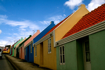 Rainbow of homes