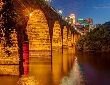A Stone Arch Friday Night