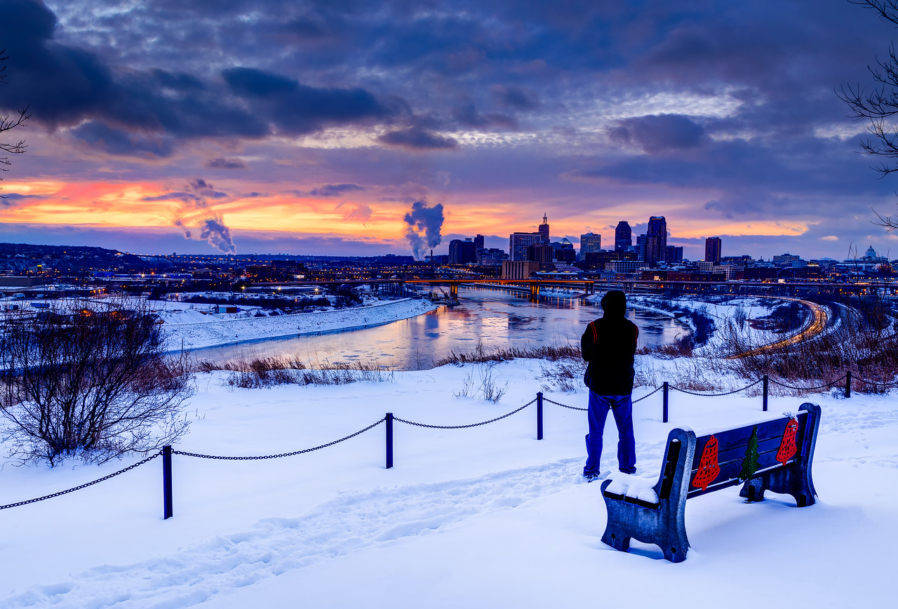 Winter on the Bluffs