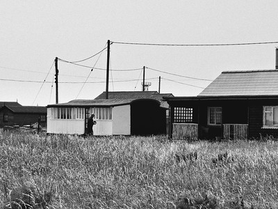 Railway carriage house, Dungeness