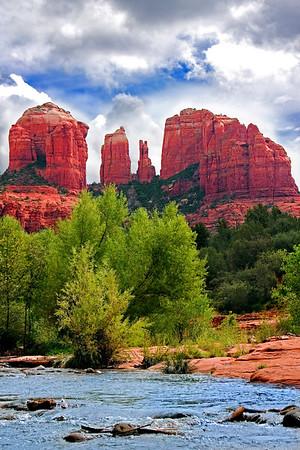 Cathedral Rock near Sedona, Arizona.