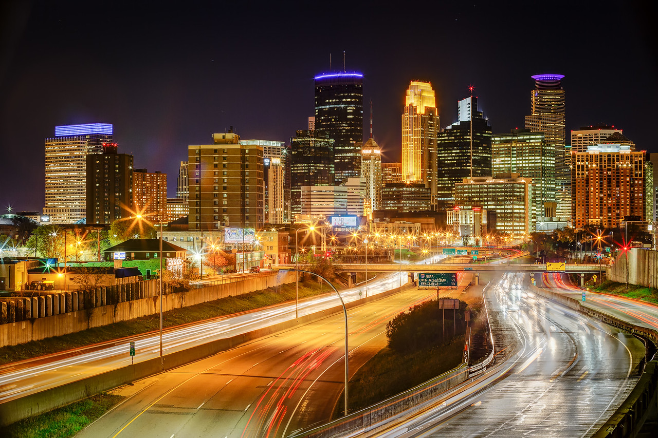 Classic Minneapolis at Night