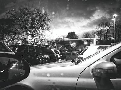 Aldi car park, Streatham