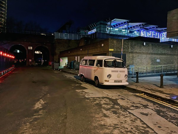 VW Combi by Blackfriars Station