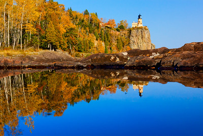 Reflections on Split Rock