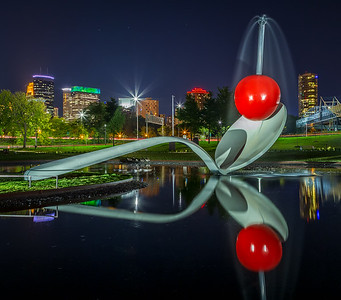 Spoonbridge and Cherry at Night