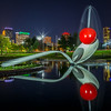 Spoonbridge and Cherry at Night