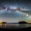 Milky Way at Split Rock