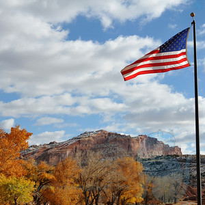 Capitol Reef Flag