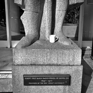 Statue of Baden-Powell