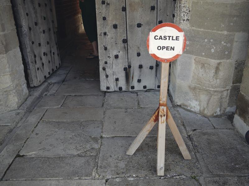 Castle open