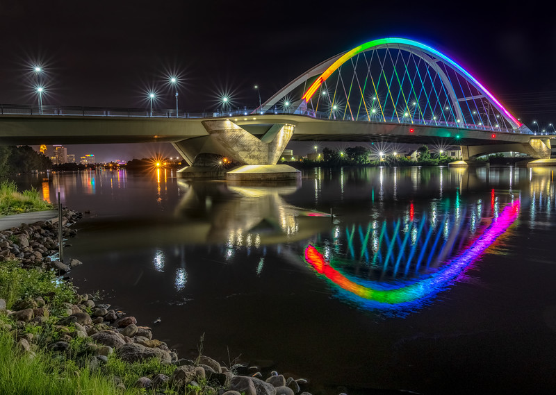 Rainbow in the Water
