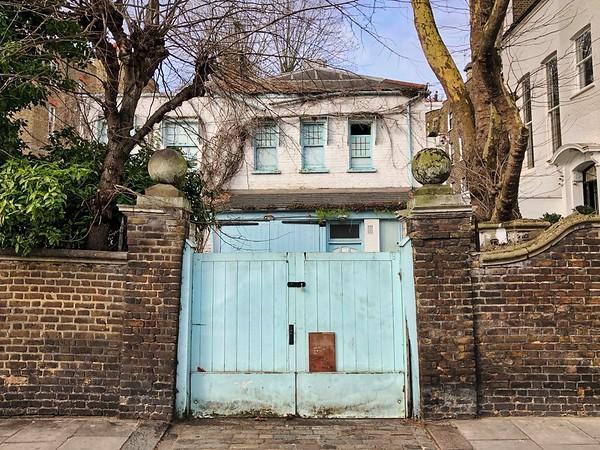 Mews house, Chelsea
