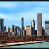Downtown Chicago <br /> 5 Shot pano of downtown Chicago.