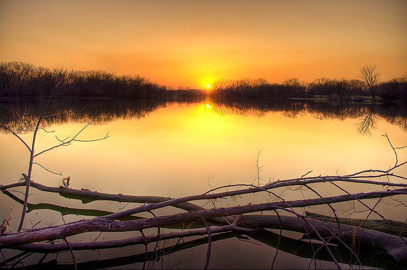 Skokie Sunset