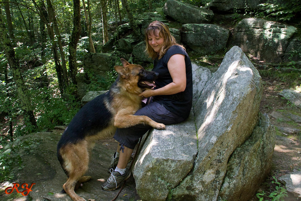 No,mom, it's not a chair, it's a rock.