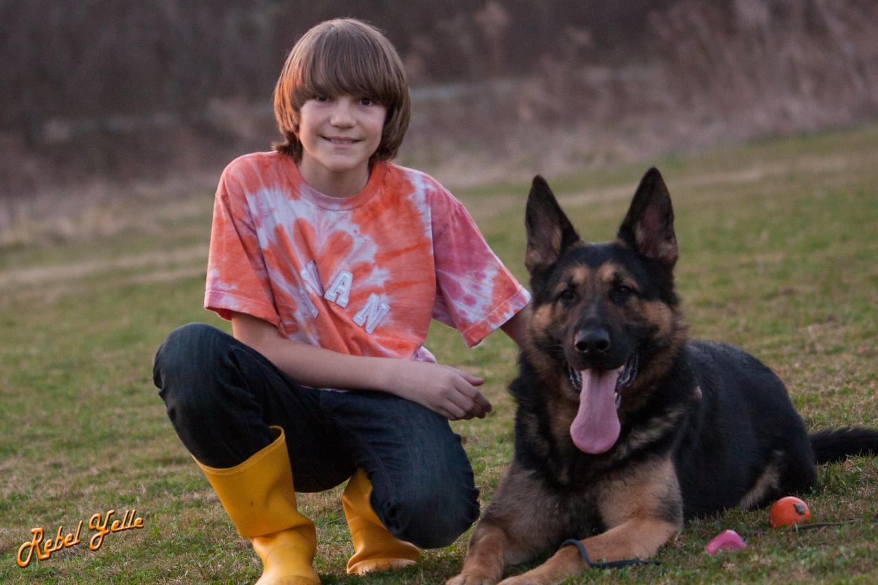 Ivan and my dog