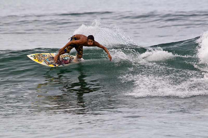 Surfing in Sayulita Mexico
