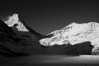 Assiniboine in morning Rockies