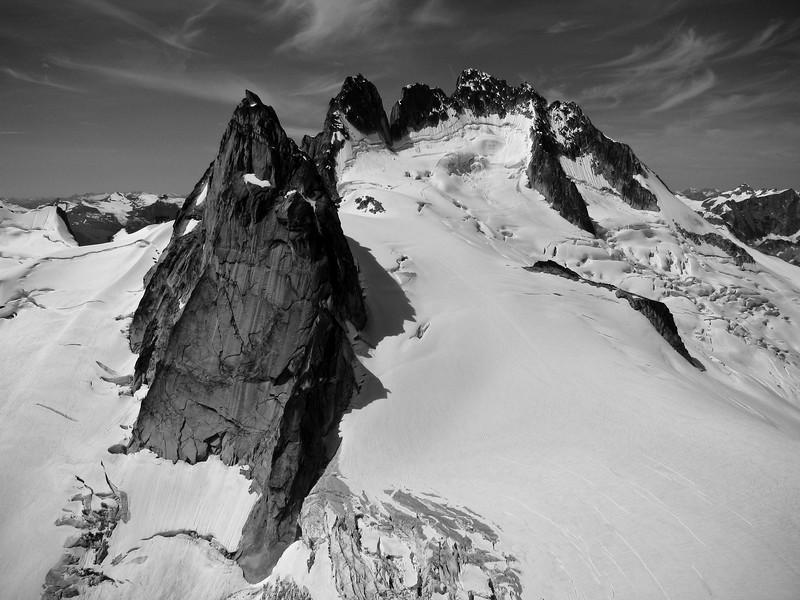Pigeon Spire and Howser Towers, Bugaboos