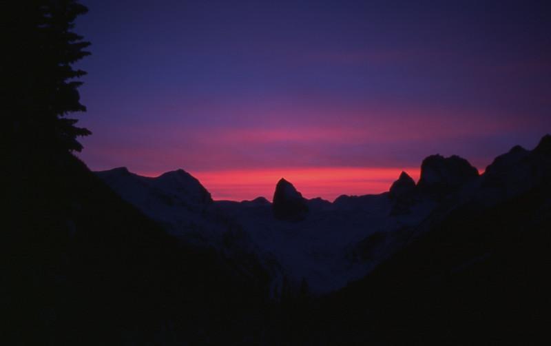 Bugaboo Sunset