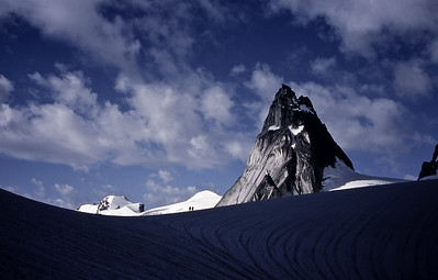 Pigeon Spire and Vowell Glacier, Bugaboos