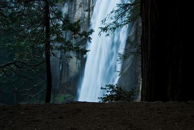 Vernal Falls Mist Trail, Yosemity