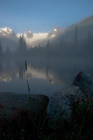 Bugaboo Pond Reflection