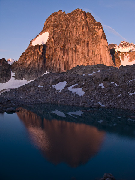 Snowpatch Spire Reflection, Bugaboos
