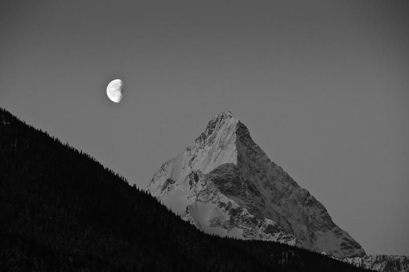 Downie Peak Moon