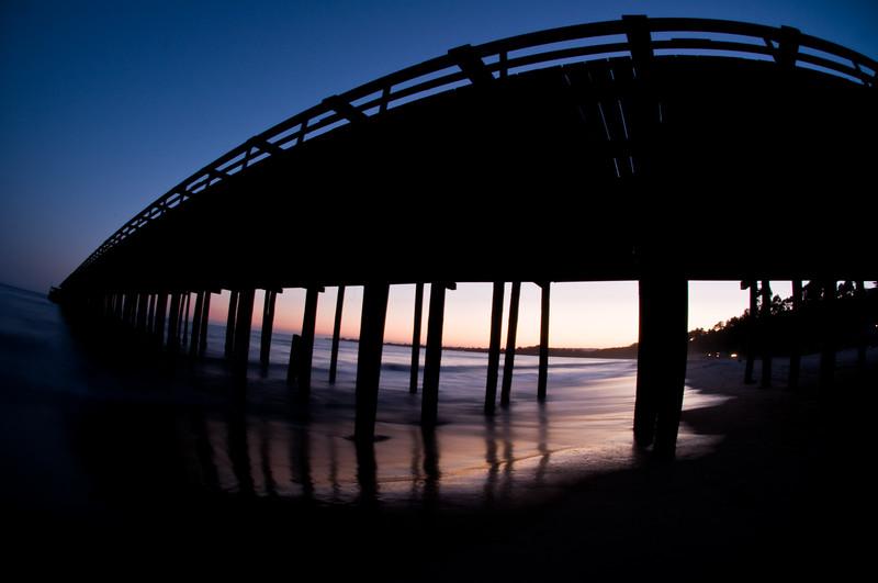 California Santa Cruz Pier