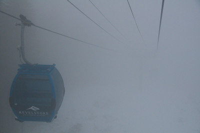 RMR Gondola in fog (colour)