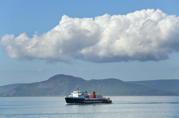 'Isle of Arran', Firth of Clyde 30/6/2014
