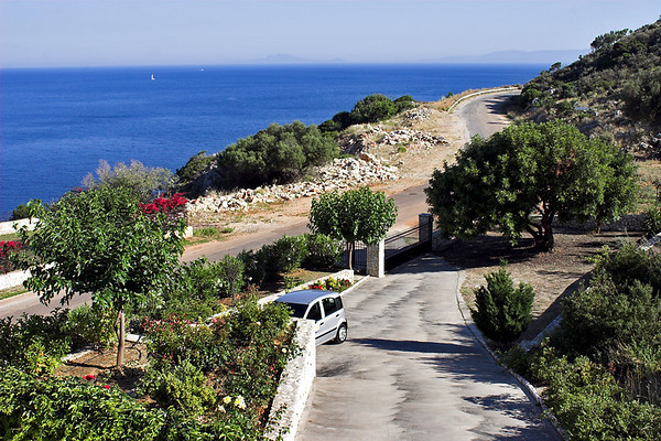 View towards Skala and Zackynthos, 12/6/2012
