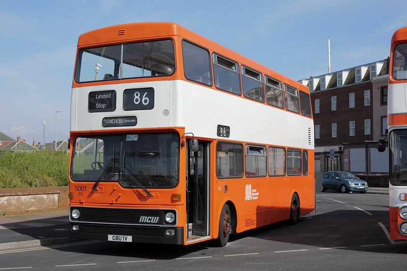 5001 GBU1V, Blackpool 22/6/2014