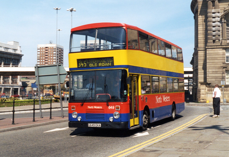 649 G649EKA, Liverpool 13/5/1996