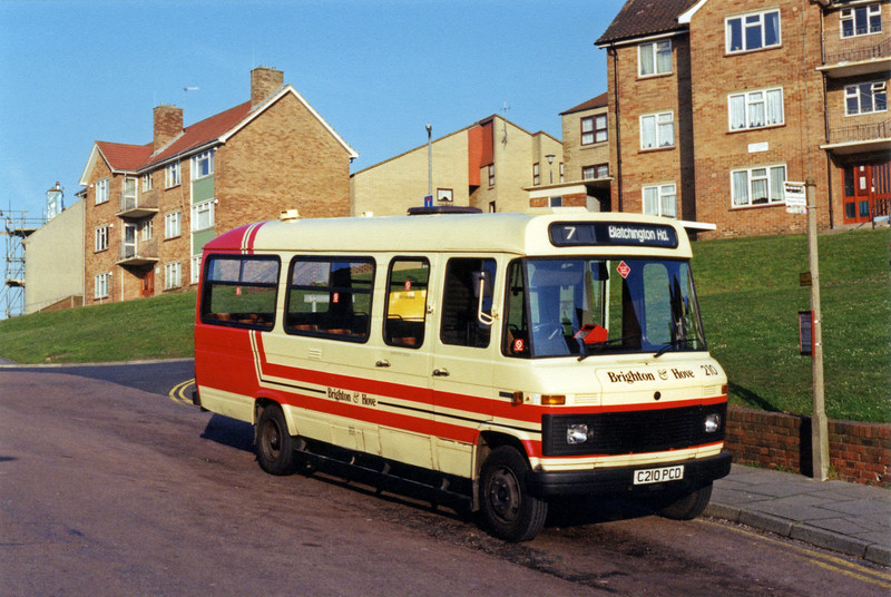 210 C210PCD, Bristol Estate 11/4/1994