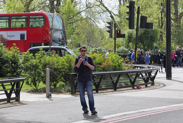 Andy Rigby, Marble Arch 15/4/2017