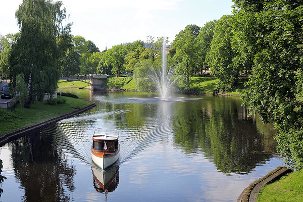 Pilsetas Kanals, Riga, Latvia 31/5/2014