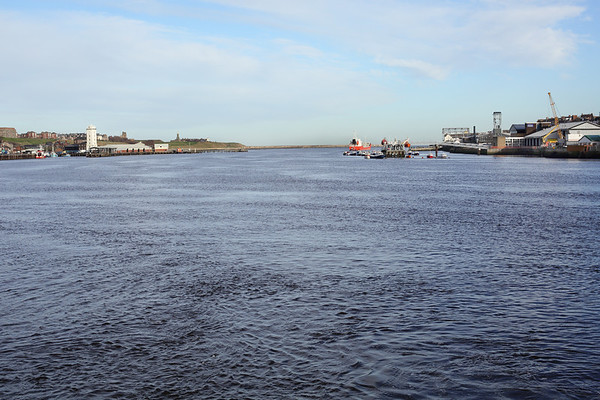 River Tyne, seen from the Shields Ferry, 10/2/2014