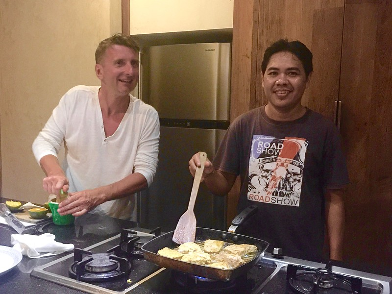 Our personal chef at Villa Wahyu, Komang | SEMINYAK