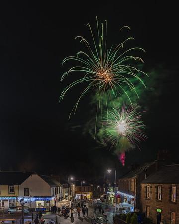 Dunblane Extravaganza Fireworks 2016 - 3
