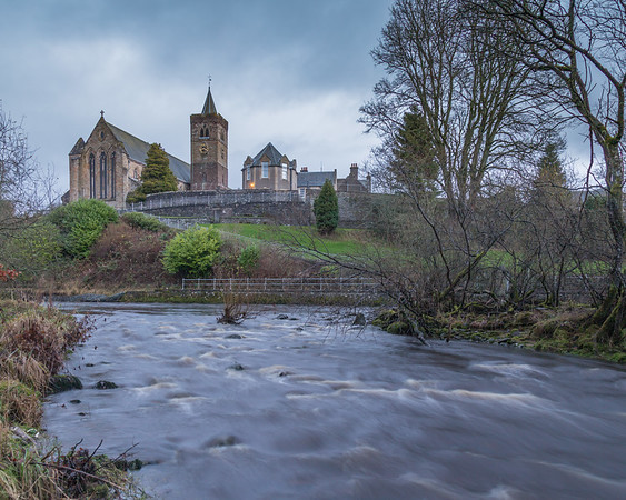 Allan Water Cathedral View