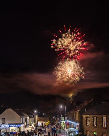 Dunblane Extravaganza Fireworks 2016 - 6