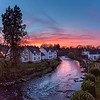 Dunblane Spring Sunset