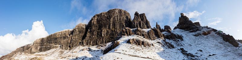 The Quiraing Crags