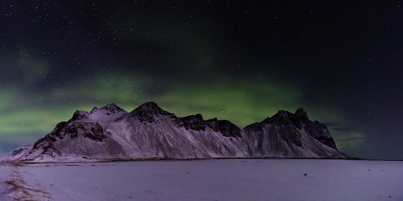 Vestrahorn Aurora